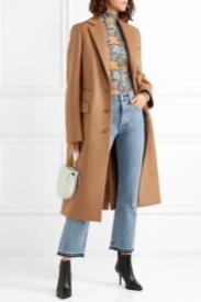модное бежевое пальто осень 2018 зима 2019