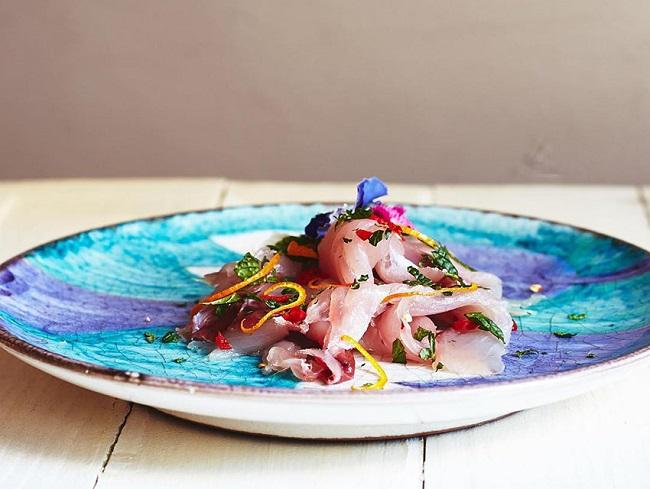 блюда из морепродуктов вкусно и недорого поесть в Милане