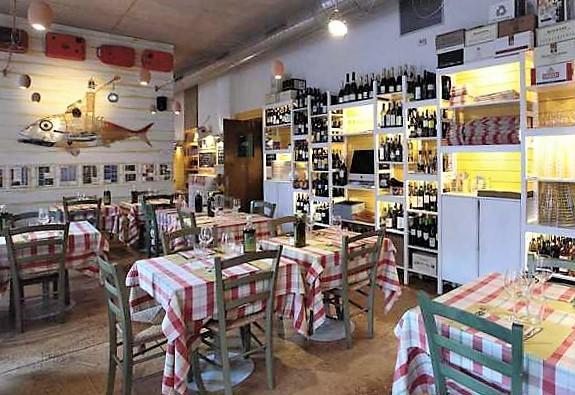 недорогой рыбный вкусный ресторан в Милане