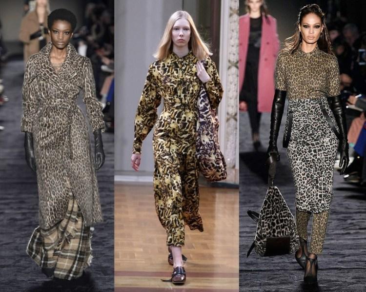 nrend leopard print FW 2018 total look