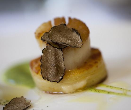 вкусные звездные блюда из морепродуктов в Милане