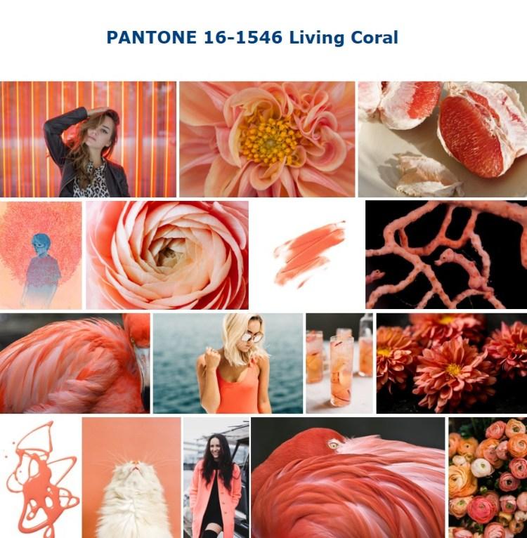 Color trend SS 2019 PANTONE 16-1546 Living Coral живой коралл