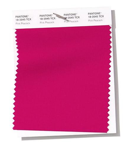 PANTONE 18-2045 Pink Peacock розовый павлин