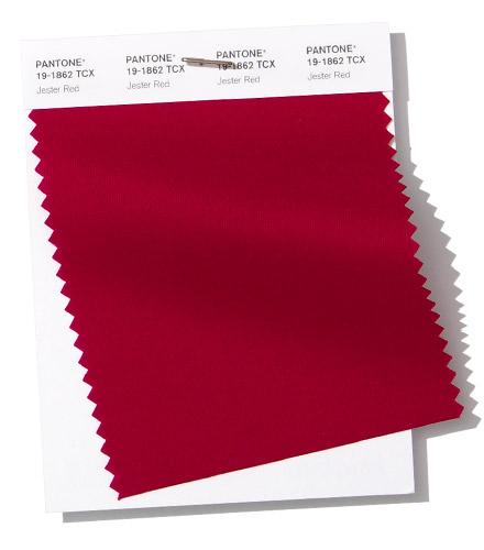 PANTONE 19-1862 Jester Red шутовской красный красный джокер