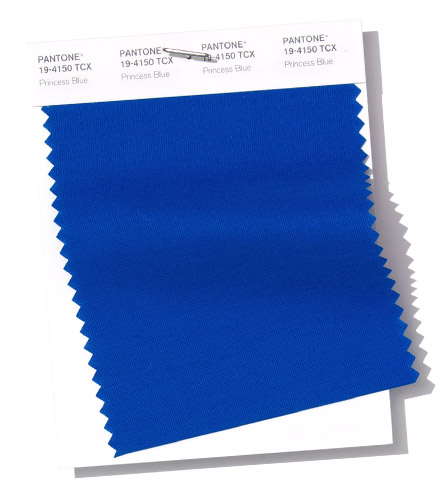 PANTONE 19-4150 Swatch Princess Blue прицессин синий