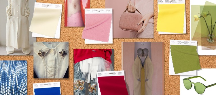 Pantone Fashion Color Trend Report London Spring Summer 2019