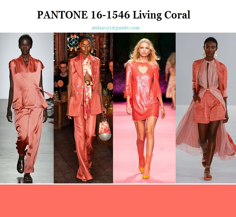 color of the year 2019 PANTONE 16-1546 Living Coral