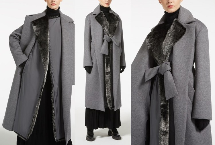5a55c0b4b7cc Коллекция пальто Max Mara осень–зима 2018/19. Фото и цены -