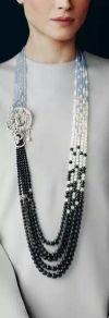 как модно стильно носить брошь ожерельем