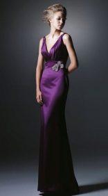 как модно стильно носить брошь с вечерним платьем