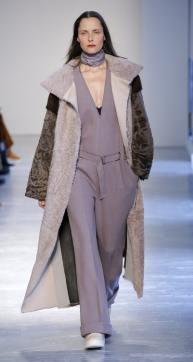 Модная итальянская дубленка Agnona зима 2018 2019