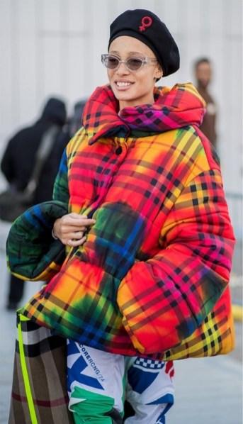 самые модные пуховики зима 2018 2019 как модно носить стильный пуховик стритстайл