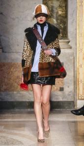 Simonetta Ravizza модные итальянские шубы в Милане зима 2018 2019