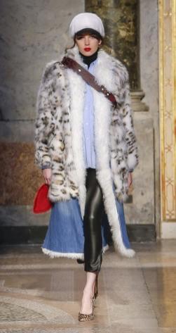 модные итальянские шубы зима 2019 тенденция леопард и животный принт