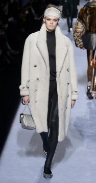 модные шубы Tom Ford зима 2019 тенденция стритстайл