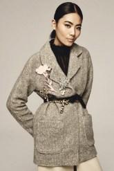 идеи как модно носить броши