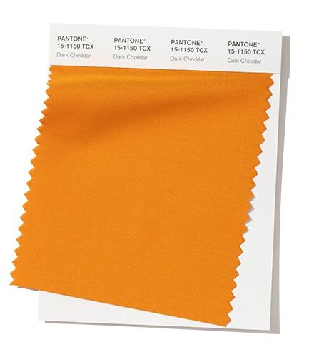 PANTONE 15-1150 Dark Cheddar - Темный чеддер модный цвет осень зима 2020