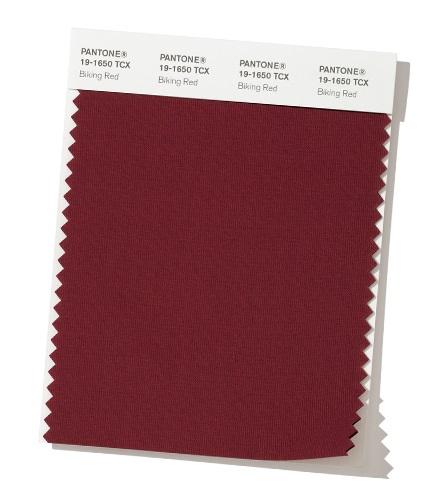 модный цвет осень зима 2020 PANTONE 19-1650 - Biking Red