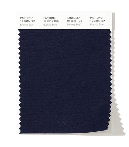модный цвет осень зима 2020 PANTONE 19-3815 Evening Blue