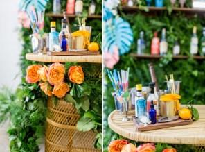 wedding ideas 2019 inspirations Pantone paradise tropical