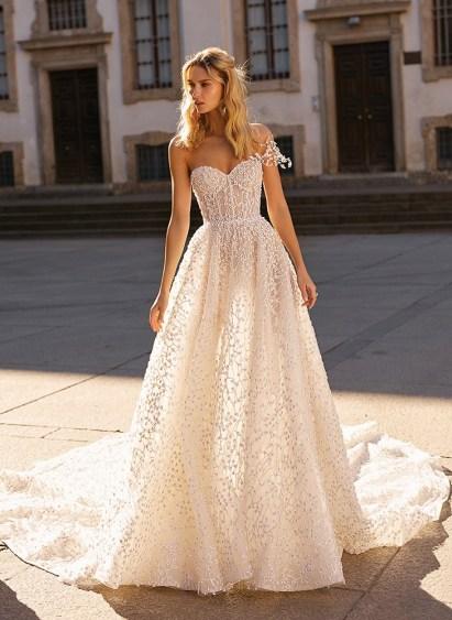 самые модные красивые свадебные платья Berta 2020