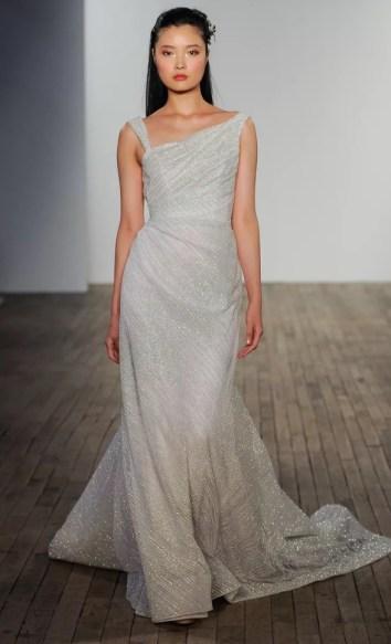 блестящие свадебное платье 2020 Лазаро