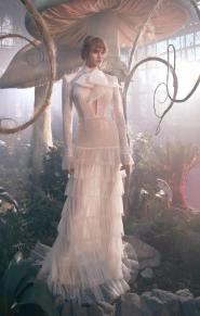 модная тенденция - блестящее свадбеное платье 2020