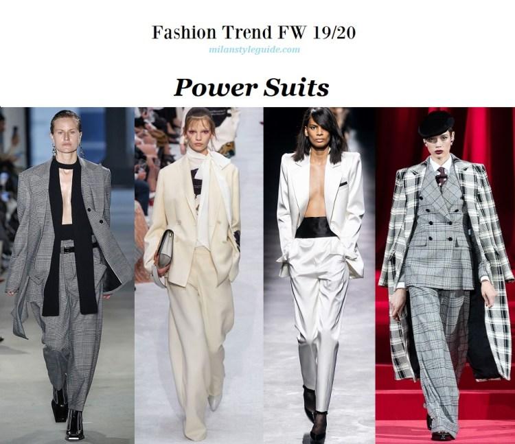 Fashion trend fall winter 2019-2020 power suits модный тренд осень зима 19/20 мужской костюм