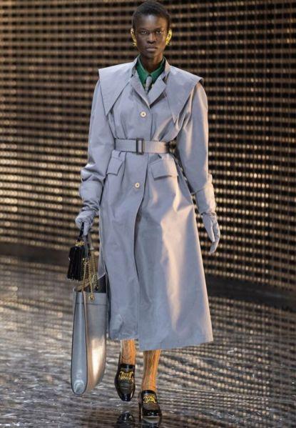 модный тренч мода осень 2019