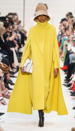 модные пальто накидки и кейп осень 2019