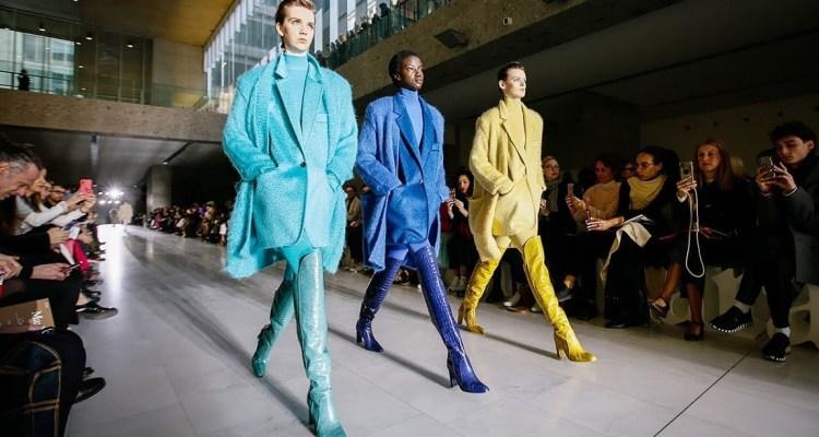 модные тенеденции осень 2019 - модные пальто