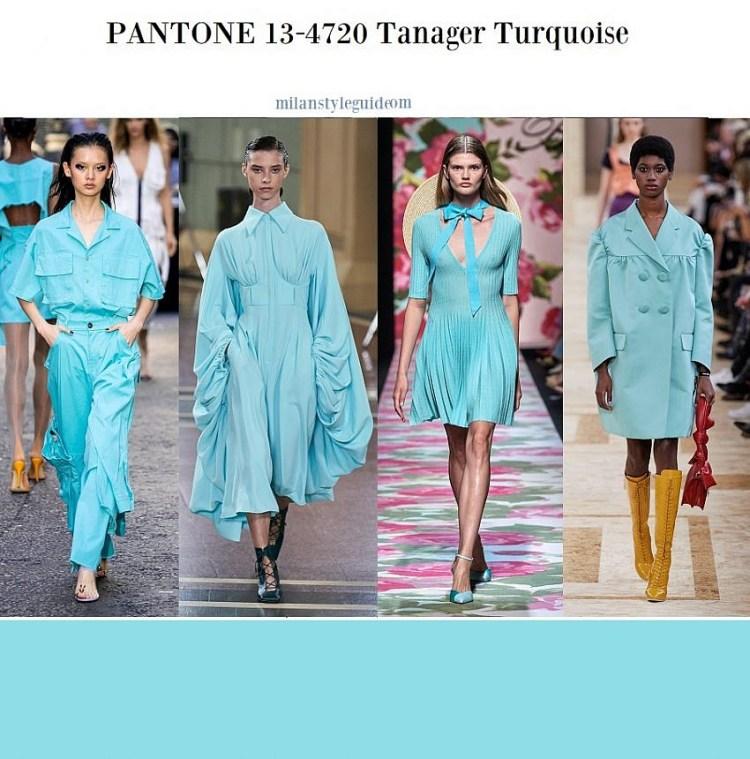 модные цвета весна лето 2020 13-4720 Tanager Turquoise