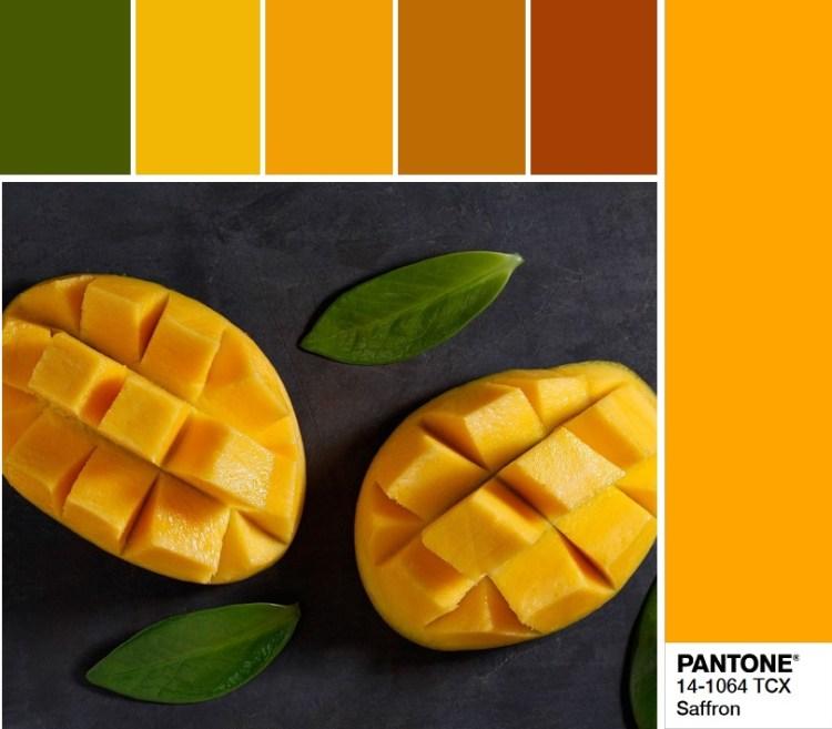 модные цвета весны и лета 2020 PANTONE 14-1064 Saffron