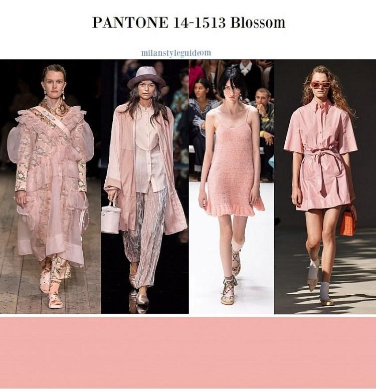 модный цвет весна лето 2020 14-1513 Blossom
