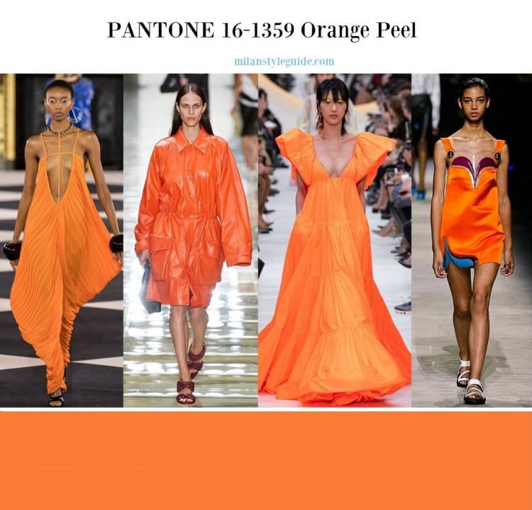 PANTONE 16-1359 Orange Peel