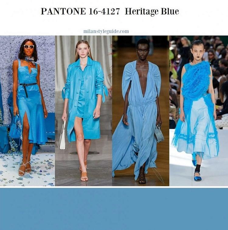 модные цвета весна лето 2020 16-4127 Heritage Blue