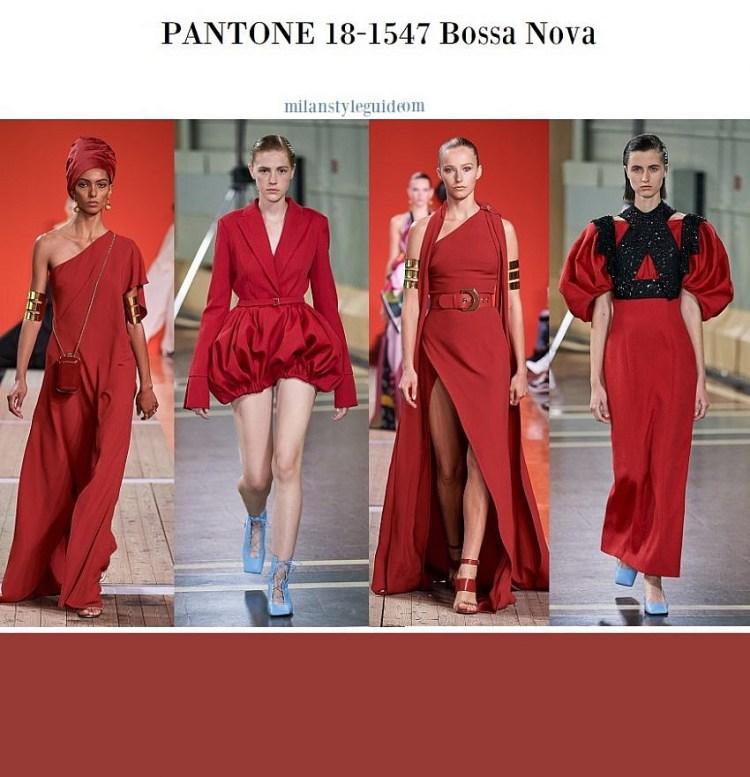 модный цвет весна лето 2020 fashion color trend 2020 18-1547 Bossa Nova