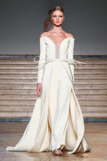 wedding dress Antonio Grimaldi Haute Couture SS20