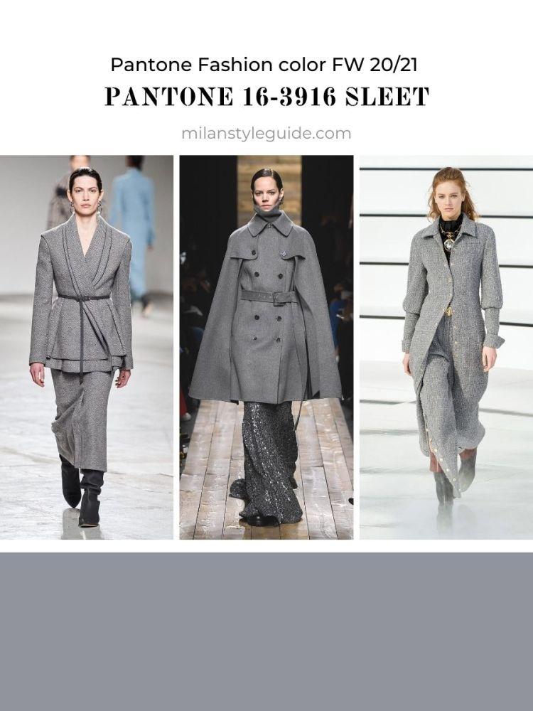 PANTONE 16-3916 Sleet