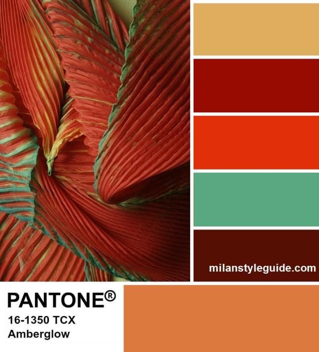 PANTONE 16-1350 Amberglow - Янтарное свечение
