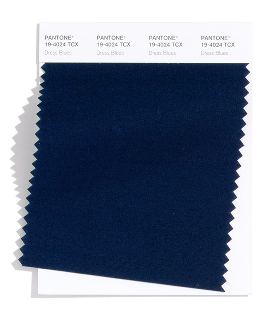 Pantone Fashion Color Trend Report London Autumn Winter 2021 Dress Blues