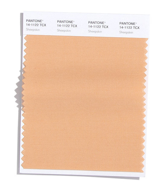 Pantone Fashion Color Trend Report London Autumn Winter 2021 Sheepskin