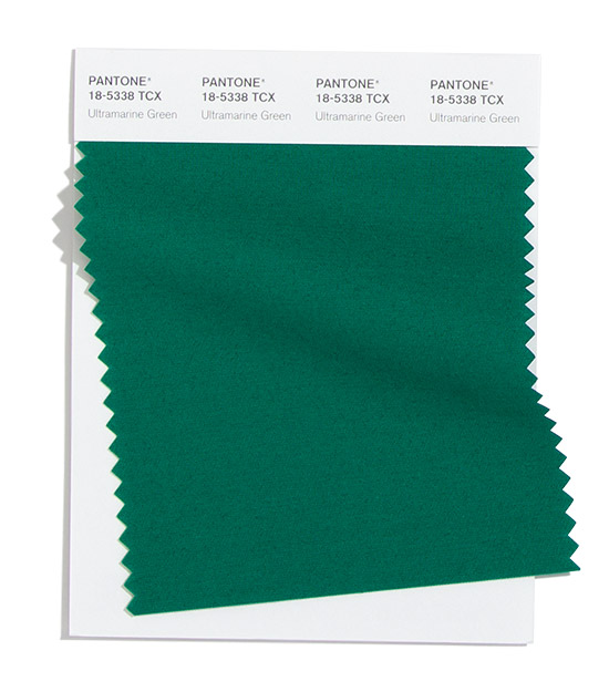 PANTONE 18-5338 Ultramarine Green