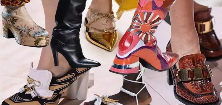 модные тенденции женская обувь 2020 весна лето осень зима
