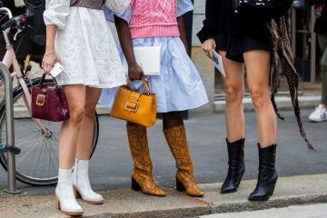 модная обувь осень зима 2020 2021 модные тенденции