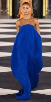плиссе платье юбка Balmain 2020