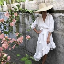 модная платье рубашка лето 2020