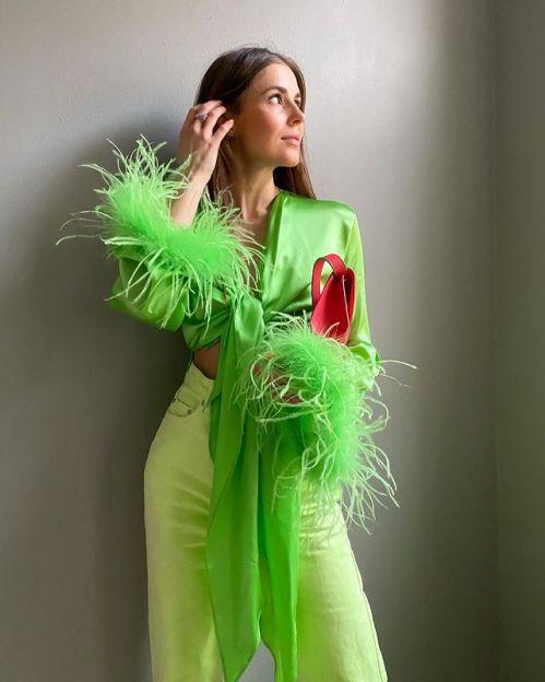 модные цвета весна лето 2021 зеленый цвет сочетания