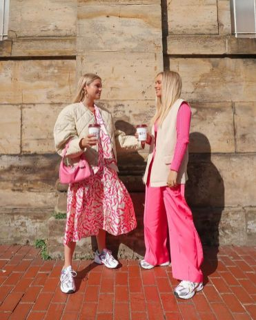 с чем носить розовое 2021 К