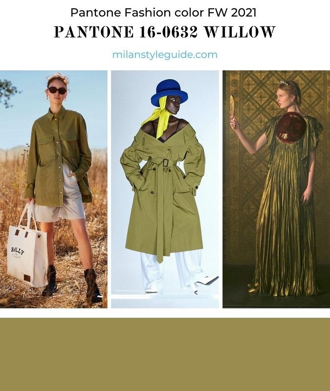 PANTONE 16-0632 Willow - Ива
